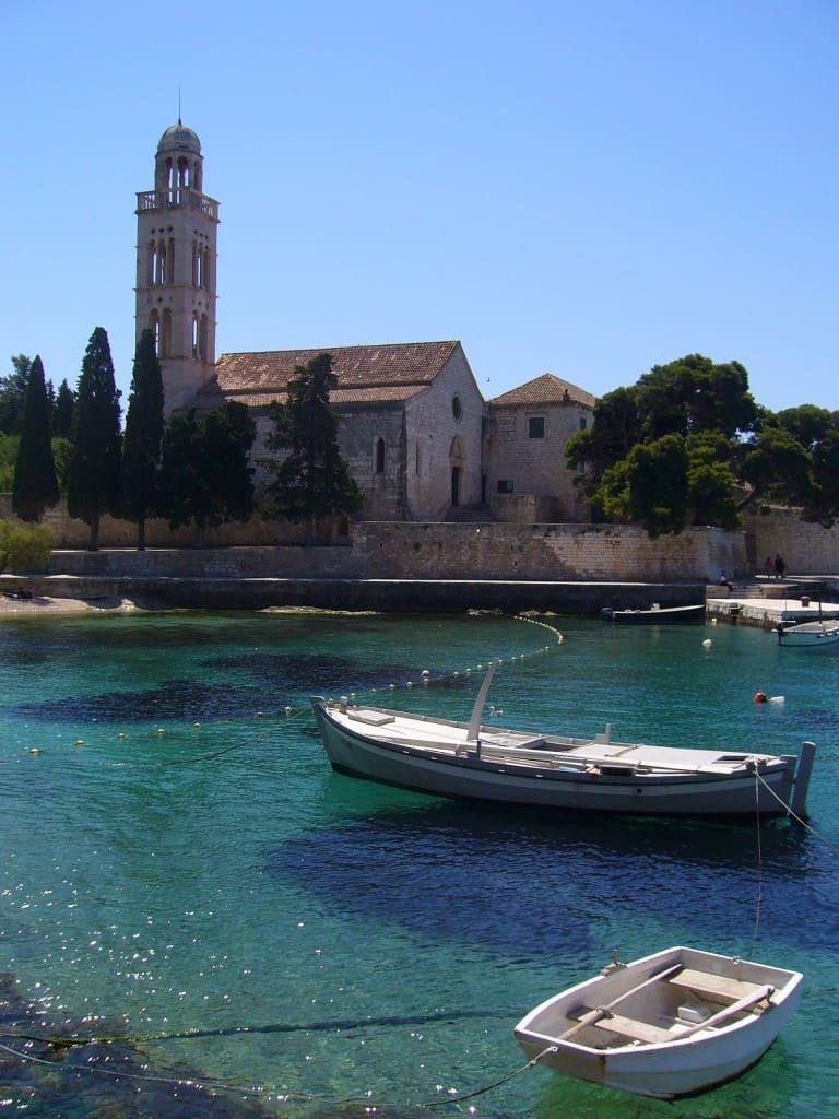 סירות על הים האדריאטי בקרואטיה