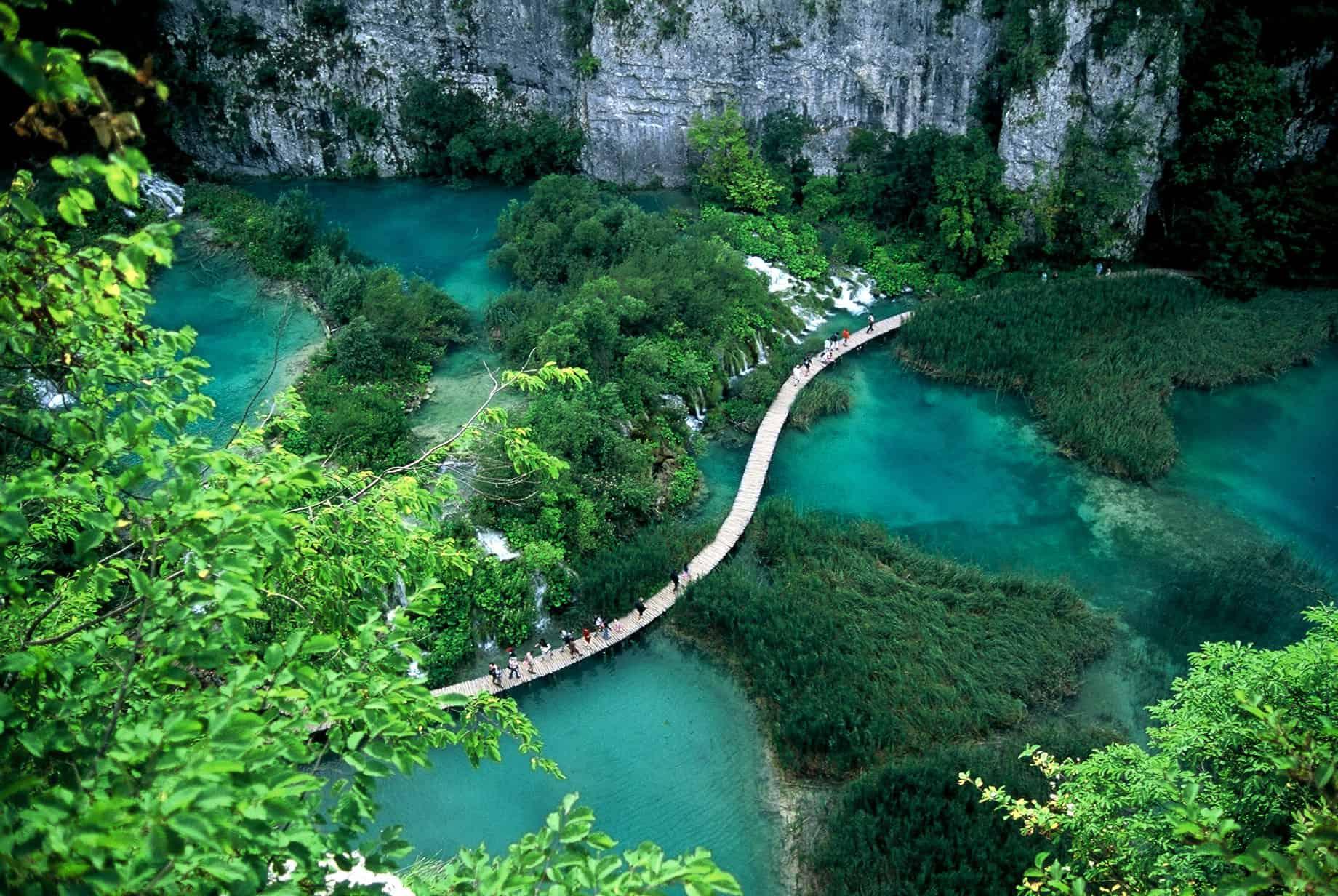 גשר הליכה בקרואטיה