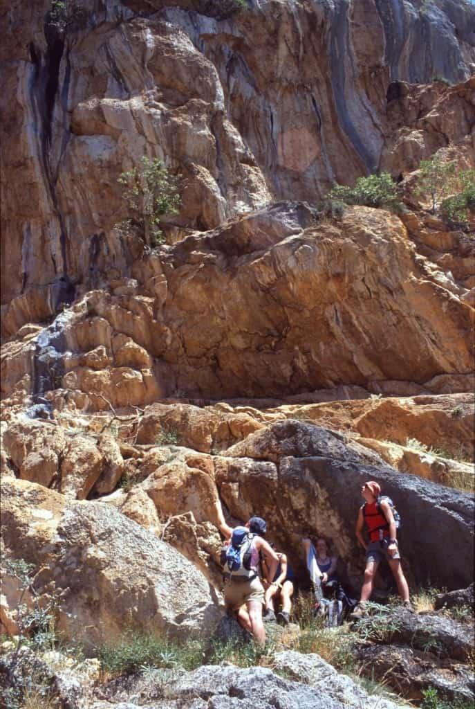 מטפסי צוקים בשמורת הטבע פקלניצה בקרואטיה