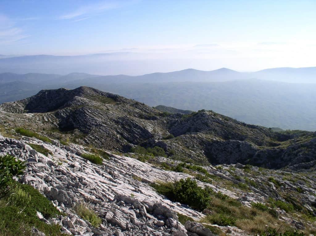 הרי הקארסט בחבל דלמטיה