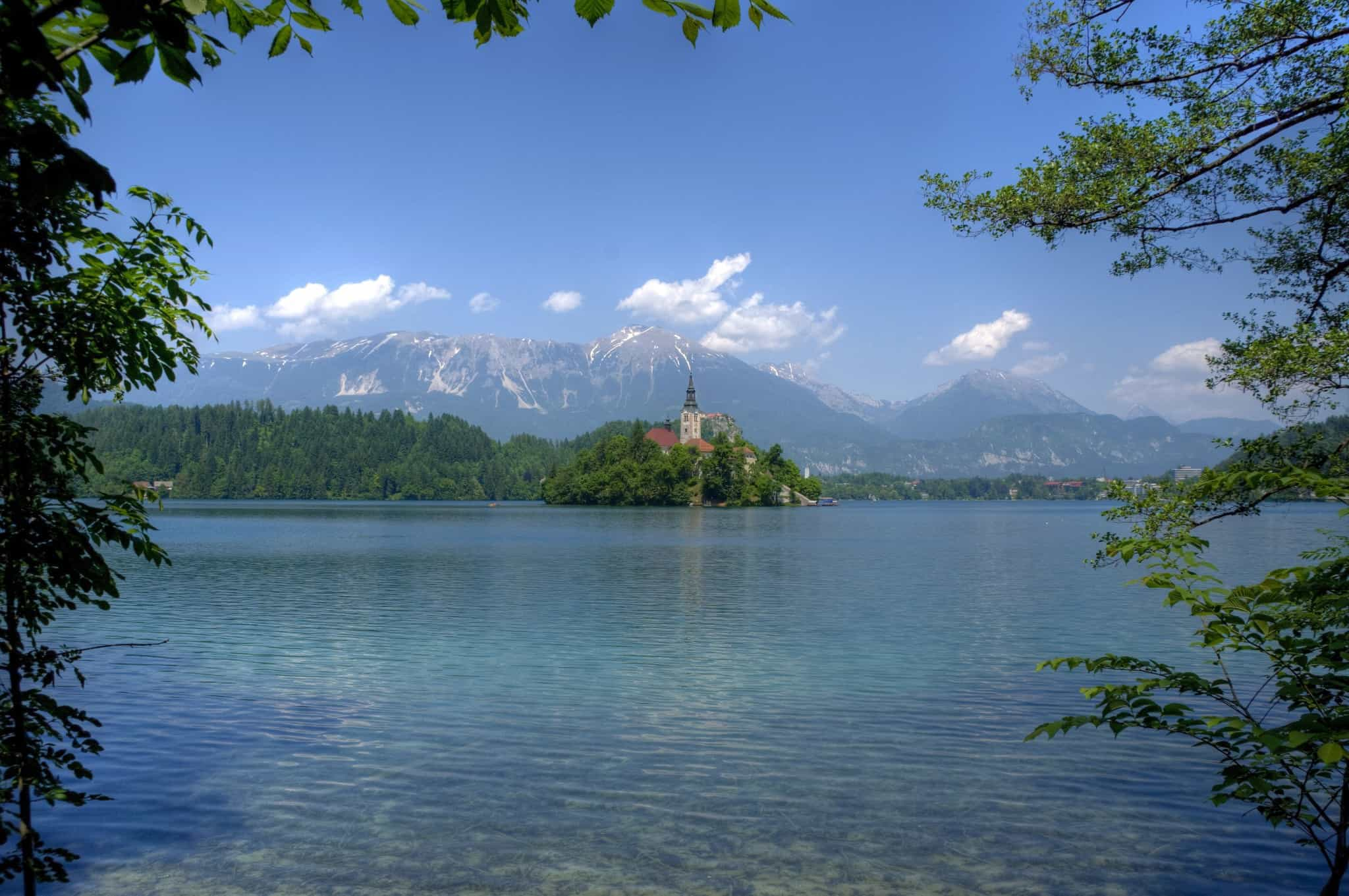 אגם Bled בסלובניה